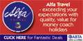 Alpha Travel 2017 Coach Holidays